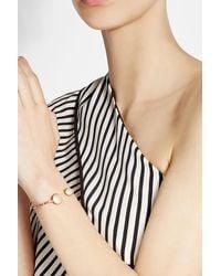 Gas Bijoux | Metallic 24kt Gold Plated Duality Serti Bracelet | Lyst