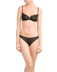 La Perla - Black Lace Briefs - Lyst