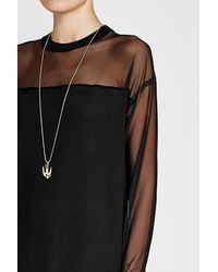 McQ Alexander McQueen - Multicolor Swallow Pendant Necklace - Lyst