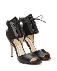 Paul Andrew - Black Leather Stiletto Pumps - Lyst