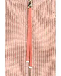 Tara Jarmon - Multicolor Pullover With Scalloped Hemline - Lyst