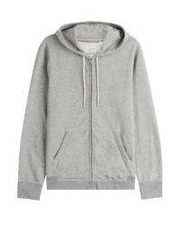 Rag & Bone - Gray Cotton Hoodie for Men - Lyst