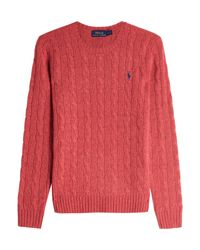 Polo Ralph Lauren - Multicolor Julianna Wool Pullover With Cashmere - Lyst
