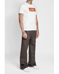 Fendi - Multicolor Printed Cotton T-shirt for Men - Lyst