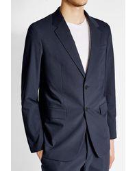 Jil Sander - Blue Cotton Blazer for Men - Lyst
