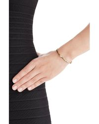 Jennifer Fisher | Metallic Peak 14kt Yellow Gold Plated Bangle | Lyst