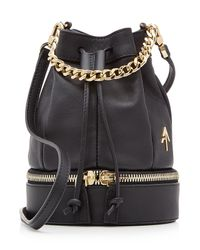 669e709e MANU Atelier - Multicolor Zeal Leather Bucket Bag - Black - Lyst