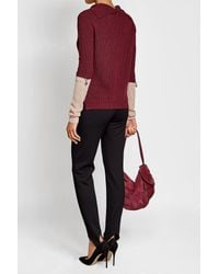 81hours - Red Superfine Wool Pullover - Lyst