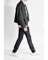 Marni - Gray Cotton Blend Bomber for Men - Lyst