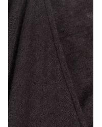 Rick Owens | Black Cashmere-silk Maxi Dress | Lyst