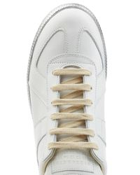 Maison Margiela - Multicolor Leather Sneakers for Men - Lyst