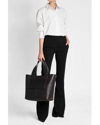 Victoria Beckham - Black Apron Leather Tote - Lyst