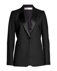 Victoria Beckham - Black Wool Blazer - Lyst