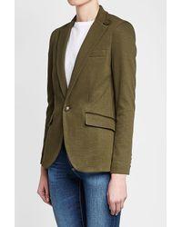 Polo Ralph Lauren - Multicolor Blazer With Cotton - Lyst