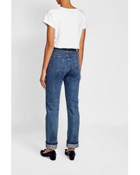 A.P.C. - Blue Skinny Jeans - Lyst