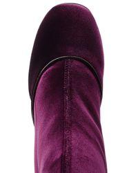 Laurence Dacade - Multicolor Velvet Knee-length Boots - Lyst