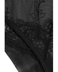 La Perla - Black Lace Briefs - Lyst