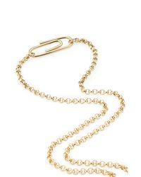 Aurelie Bidermann - Metallic 18kt Gold Plated Necklace - Lyst