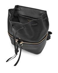 Ferragamo | Black Leather Backpack | Lyst