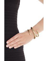Jennifer Fisher - Metallic 14kt Gold Plated Cuff - Lyst