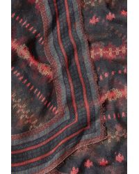 Faliero Sarti - Multicolor Printed Scarf With Cashmere - Lyst
