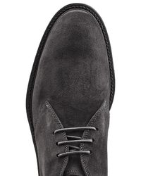 Tod's - Black Suede Desert Boots for Men - Lyst