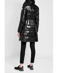 Moncler - Black Quilted Down Parka - Lyst