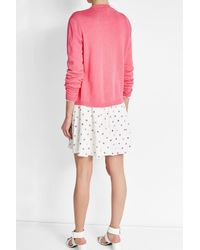 Shrimps - Pink Wool Cardigan - Lyst
