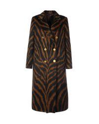 Tagliatore Black Double-breasted Coat