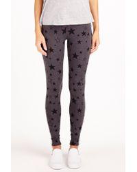 Sundry Multicolor Star Print Yoga Pant