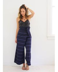 Mara Hoffman | Blue Lucretia Wide Pant | Lyst