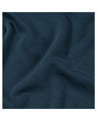Sunspel Blue Men's Sea Island Cotton Knit Polo Shirt In Samphire for men
