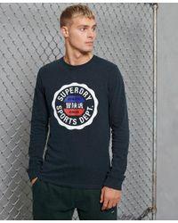 Superdry Multicolor Sport Vintage Sport Long Sleeve Top for men