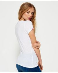 Superdry White Icarus Duo T-shirt