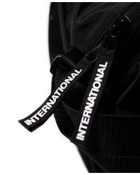 Superdry - Black Trackmaster Barrel Bag for Men - Lyst