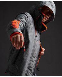 Superdry Orange Limited Edition Blockneck Sd-windcheater Jacket for men