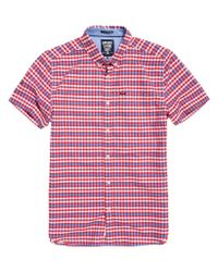Superdry - Red Ultimate University Oxford Shirt for Men - Lyst