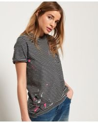 Superdry Gray Madison Spaltter T-shirt