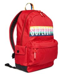 Superdry G91013jr Backpack Red,30x45x13 Centimeters
