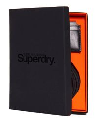 Superdry Black Premium Gift Set for men