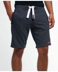 Superdry Blue True Grit Shorts for men