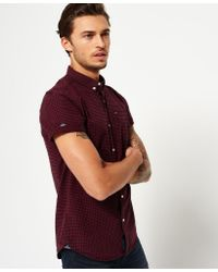Superdry - Red Ultimate City Oxford Shirt for Men - Lyst