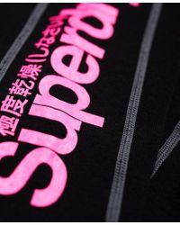 Superdry Black Merino Base Layer Leggings