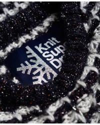 Superdry Super Slouch Metallic Knit Jumper