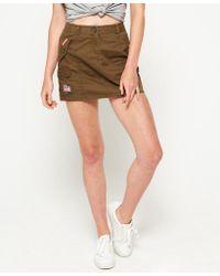 Superdry Green Rookie Skirt