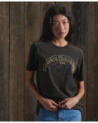 Superdry Backstage Black Out T-shirt