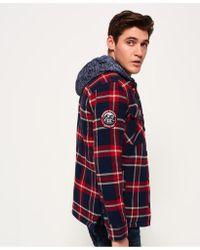 Superdry - Blue Everest Storm Shirt for Men - Lyst