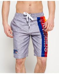 Superdry | Multicolor Cali Surf Boardshorts for Men | Lyst