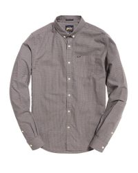 Superdry Gray Ultimate Hounds Shirt for men