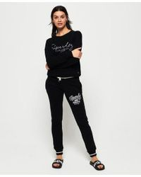Superdry Black Playoff Joggers